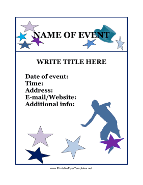 free printable event flyer templates event flyer