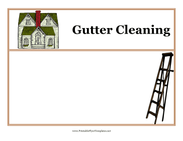 House Cleaning Free Printable House Cleaning Flyers